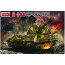 Amusing Hobby 1:35 German Super Heavy Tank E-100 Military Model Kit