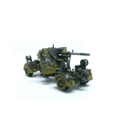 Precision Model Art 1:72 German 88mm FLAK 36 Camoflage & Trailer, German Army