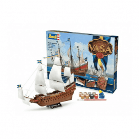 Revell 1:150 Gift Set Royal Swedish Warship VASA Model Ship Kit