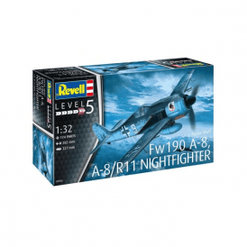 Revell 1:32 Focke-Wulf Fw190 A-8 Nightfighter Aircraft Kit