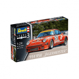"Revell 1:24 Porsche 934 RSR ""Jägermeister"" Model Car Kit"