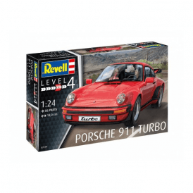 Revell 1:25 Porsche 911 Turbo Model Car Kit