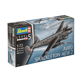 Revell 1:72 Scale Avro Shackleton AFW.2 Model Aircraft Kit
