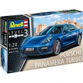 Revell 1:24 Porsche Panamera Turbo Model Car Kit