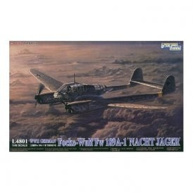 Great Wall Hobby 1:48 Focke-Wolf Fw189A-1 Night Fighter Luftwaffe Aircraft Model Kit