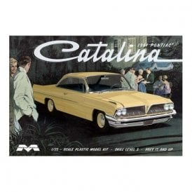 Moebius Models 1:25 1961 Pontiac Catalina Car Model Kit
