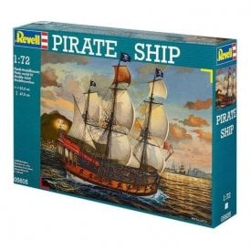 Revell 1:72 Pirate Ship Model Ship Kit