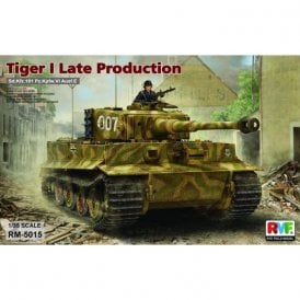 Rye Field Model 1:35 Sd.Kfz.181 Pz.Kpfw. VI Ausf.E Tiger I Late Production Military Model Kit