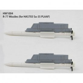 Hobby Master 1:72 R-77 missiles and launch rail for Chinese Su-35