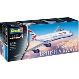 Revell 1:144 Airbus A380-800 British Airways Aircraft Model Kit