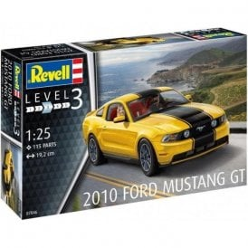 Revell 1:25 2010 Ford Mustang GT Car Model Kit