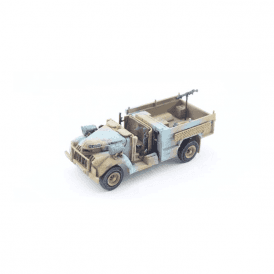 Precision Model Art 1:72 British LRDG Patrol Car, Camouflage Blue