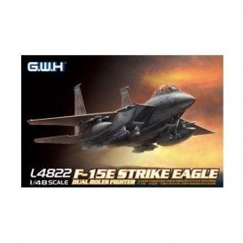 Great Wall Hobby 1:48 F-15E Strike Eagle Dual-Roles Fighter USAF (RAF Lakenheath Decals) Aircraft Model Kit