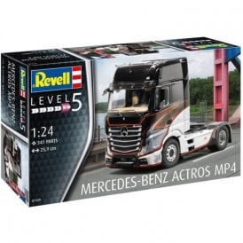Revell 1:24 Mercedes-Benz Actros MP4 Cab Model Truck Kit