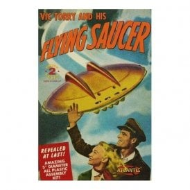 Atlantis Models Vic Torry and his Flying Saucer UFO Model Kit