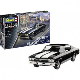 Revell 1:25 1968 Chevy Chavelle SS 396 Car Model Kit
