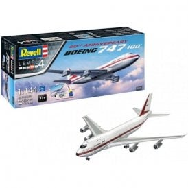 Revell 1:144 Gift Set Boeing 747-100 50th Anniversary Aircraft Model Kit