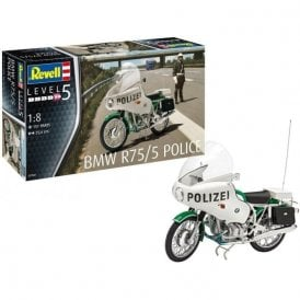 Revell 1:8 BMW R75/5 Polizei Motorbike Model Kit