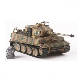 Precision Model Art 1:72 Tiger I Mid '311' s.SS.Pz.Abt.101 Normandy 1944 & Diecast Engine