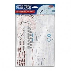 Polar Lights 1:1000 U.S.S. Reliant Aztec decal set