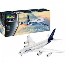 Revell 1:144 Airbus A380-800 Lufthansa New Livery Aircraft Model Kit