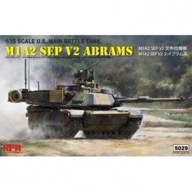 Rye Field Model 1:35 M1A2 SEP V2 Abrams Military Model Kit