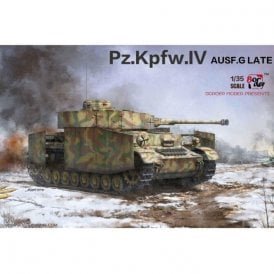 Border Models 1:35 Pz.Kpfw.IV Ausf.G Mid/Late 2 in 1 Military Model Kit (Does not include Metal Barrel or Figure)