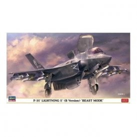 Hasegawa 1:72 F-35 Lightning II B Version 'Beast Mode' Aircraft Model Kit