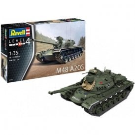 Revell 1:35 M48 A2CG Military Model Kit