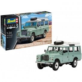 Revell 1:24 Land Rover Series III Car Model Kit