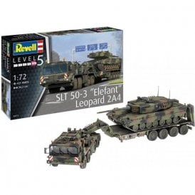 Revell 1:72 SLT 50-3 Elefant & Leopard 2A4 Military Model Kit