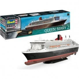 Revell 1:400 Queen Mary 2 Platinum Edition Model Ship Kit