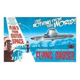 Polar Lights 1:48 Plan 9 from Outer Space Flying Saucer Model Kit