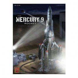 Pegasus 1:350 Mercury 9 Rocket Model Kit