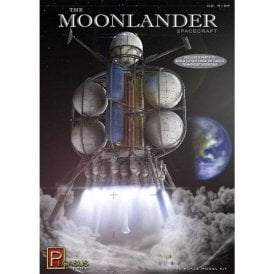 Pegasus 1:350 The Moonlander Rocket Model Kit