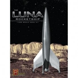Pegasus 1:350 Luna Rocketship Model Kit