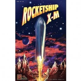 Pegasus 1:144 Rocketship X-M Rocket Model Kit