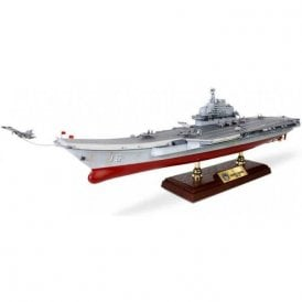 Forces of Valor 1:700 People's Liberation Army Navy Surface Force Liaoning Class Nuclear-Powered Aircraft Carrier - Liaoning (CV-16), Hong Kong Visit, 2017