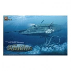 Pegasus 1:144 Nautilus - 20,000 Leagues Under The Sea Model Kit