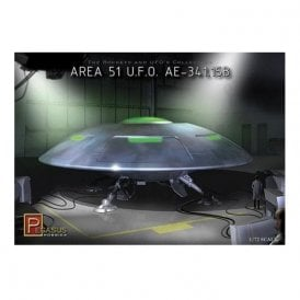 Pegasus 1:72 Area 51 UFO A.E.-341.15B Model Kit