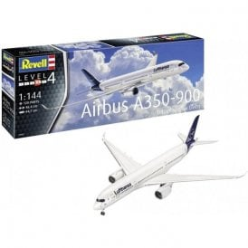 Revell 1:144 Airbus A350-900 Lufthansa New Livery Aircraft Model Kit