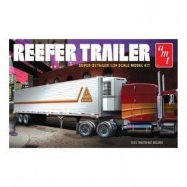 AMT 1:25 Reefer Semi Trailer Truck Kit