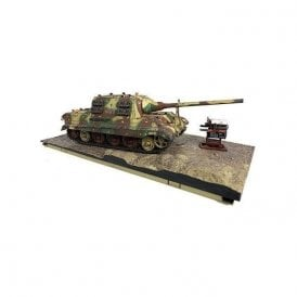 Forces of Valor 1:32 Sd. Kfz. 186 Jagdpanzer VI Jagdtiger Heavy Tank Destroyer with Henschel Suspension - schwere Panzerjager Abteilung 512, Germany, 1945