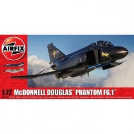 Airfix 1:72 McDonnell Douglas Phantom FG.1 RAF Aircraft Model Kit