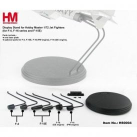 Hobby Master 1:72 Display stand  for Jets F-4,F-15E, F-16(PW engine), F-16(GE engine)