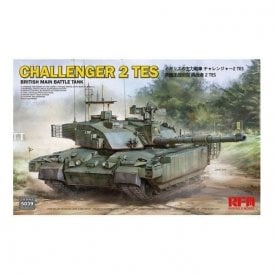 Rye Field Model 1:35 British Main Battle Tank Challenger 2 TES Military Model Kit