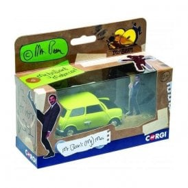 Corgi 1:36 Mr Bean's Mini - 30 years of Mr Bean Model Car