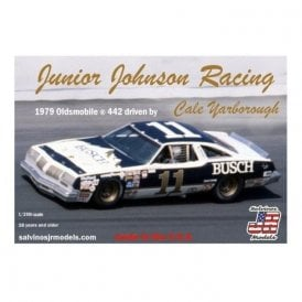 Salvinos J R Models 1:25 Junior Johnson Racing #11 Olds 1979 Olds 442 - Cale Yarborough Model Kit
