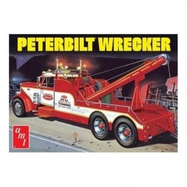 AMT 1:25 Peterbilt 359 Wrecker Truck Model Kit