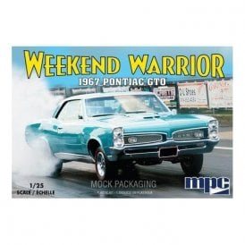MPC 1:25 1967 Pontiac GTO Weekend Warrior Model Kit